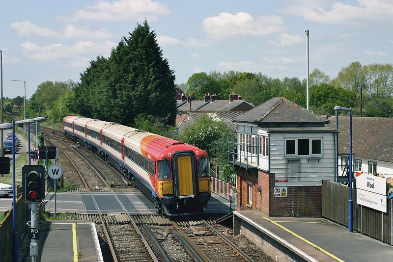 2416 Wool 17/5/2005<br /> 1W44 1200 Weymouth-London Waterloo