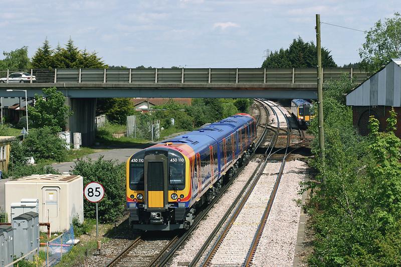 450110 Wareham 17/5/2005<br /> 5W94 1308 Weymouth-Southampton Central