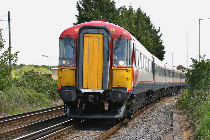 2420 Wool 17/5/2005<br /> 1W27 1035 London Waterloo-Weymouth