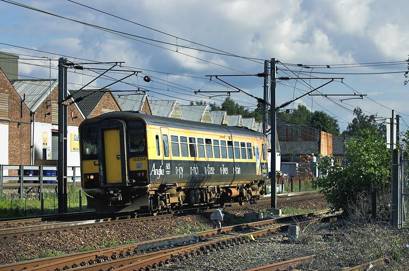 153314 Stowmarket 17/9/2005<br /> 2W22 1516 Ipswich-Cambridge
