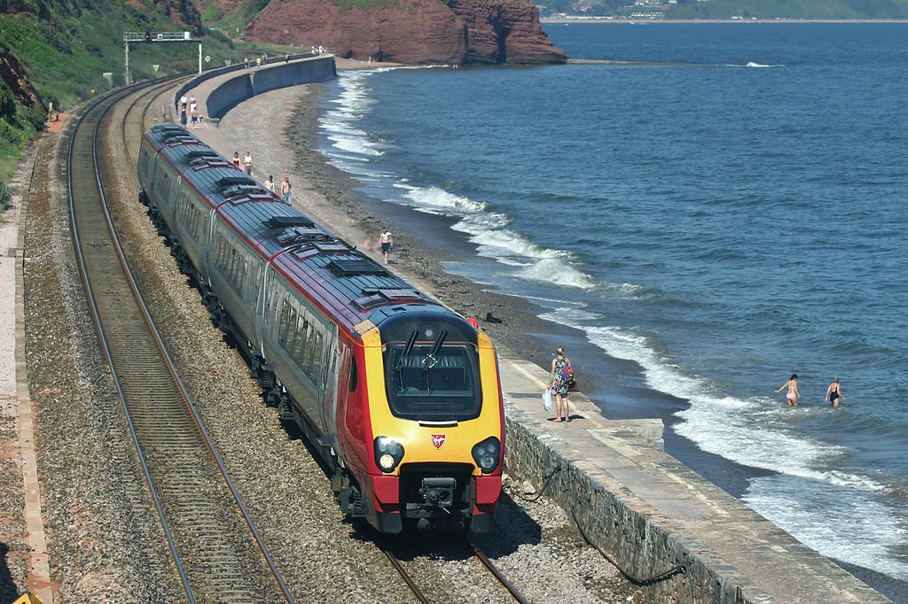 221129 Dawlish 18/6/2005<br /> 1V51 1025 Newcastle-Penzance