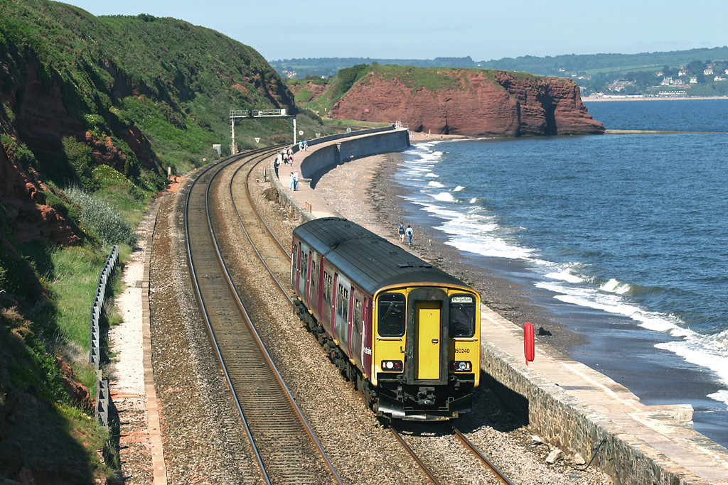 150240 Dawlish 18/6/2005<br /> 2A35 1454 Exmouth-Paignton