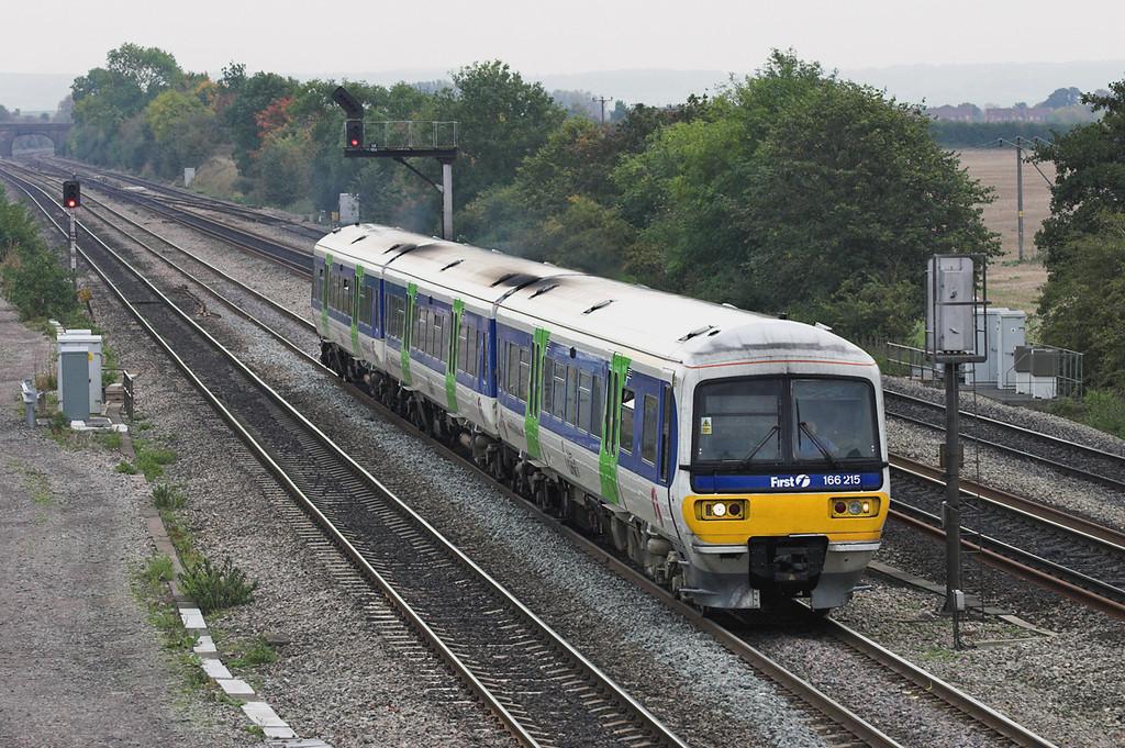 166215 South Moreton 18/10/2005<br /> 2N28 1033 London Paddington-Oxford