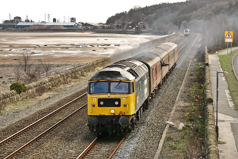 47847 Ffynnongroyw 19/2/2005<br /> 1D37 1003 Manchester Piccadilly-Holyhead