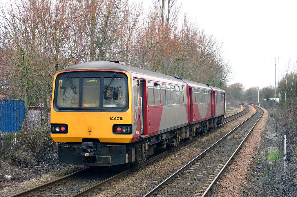 144015 Starbeck 19/3/2005<br /> 2C19 1005 Knaresborough-Leeds