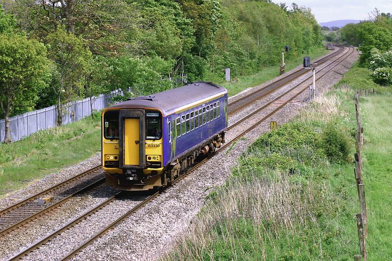 153330 Lea 19/5/2005<br /> 2N19 1300 Colne-Blackpool South
