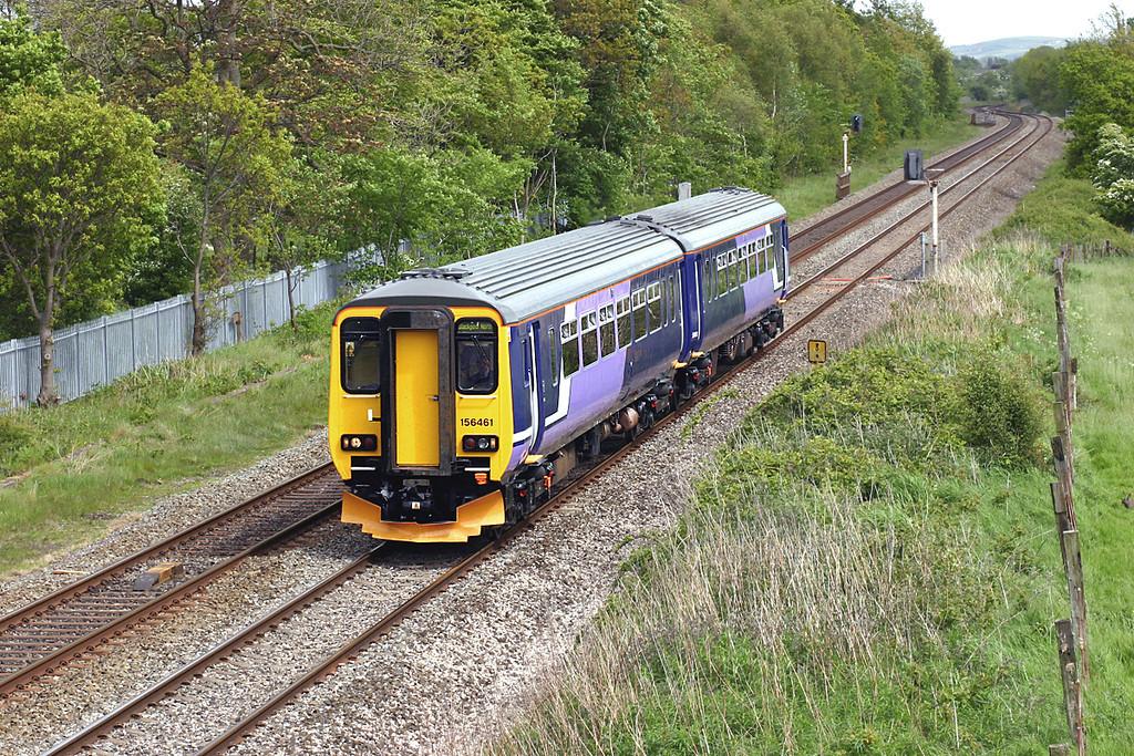 156461 Lea 19/5/2005<br /> 2N97 1241 Buxton-Blackpool North