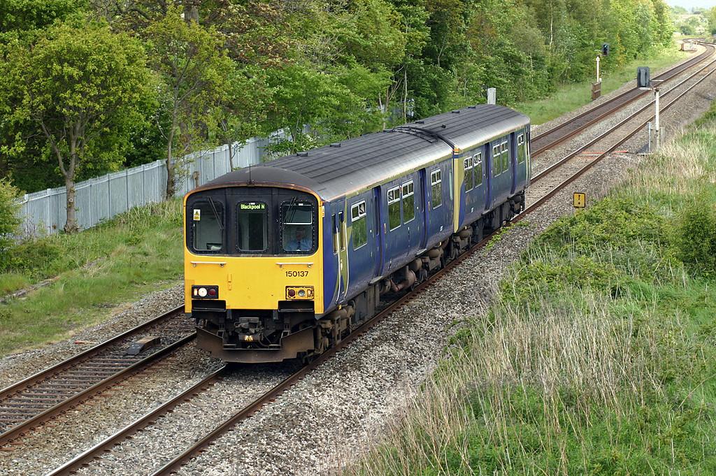 150137 Lea 19/5/2005<br /> 2N54 1357 Liverpool Lime Street-Blackpool North