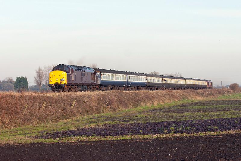 37416 and 60042, Farington Moss 19/11/2005<br /> 1Z37 0655 Newport-Preston Docks