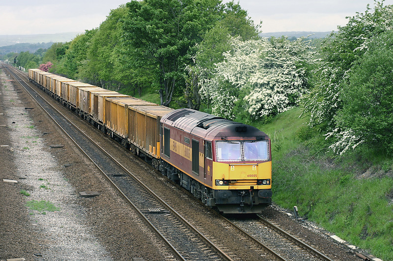 60005 Mirfield 20/5/2005<br /> 6E06 1000 Bredbury-Roxby Gullett