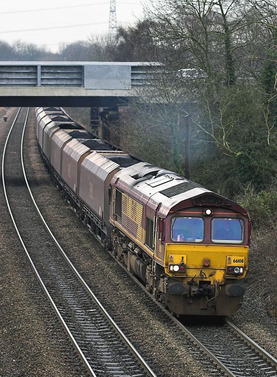 66108 South Milford 20/12/2005<br /> 6E77 0807 Hunterston-West Burton PS