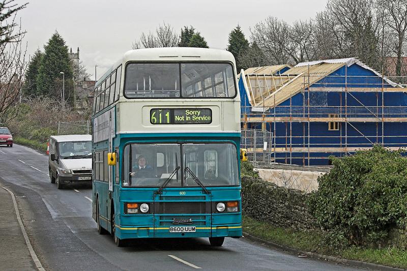 600 B600UUM, Monk Fryston 20/12/2005