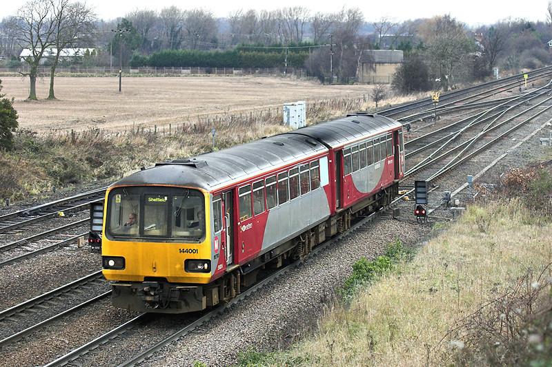 144001 South Milford 20/12/2005<br /> 2Y87 1103 York-Sheffield