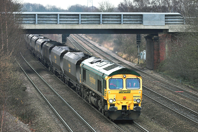 66563 South Milford 20/12/2005<br /> 4Y82 0846 Drax PS-Hull King George Dock