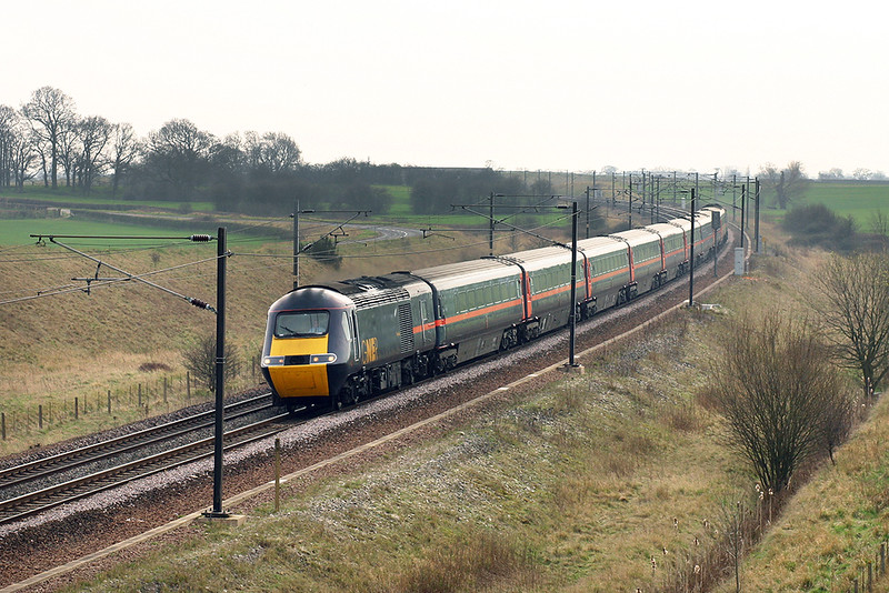 43107 and 43109, Colton Junction 21/3/2005<br /> 1S15 1200 London Kings Cross-Inverness