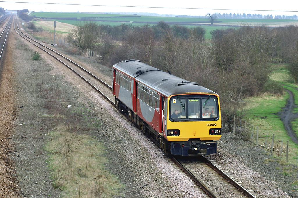 144002 Bolton Percy 21/3/2005<br /> 2Y89 1455 York-Sheffield