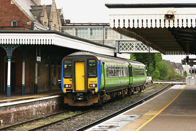 156415 Sleaford 21/5/2005<br /> 2E17 1045 Blythe Bridge-Skegness