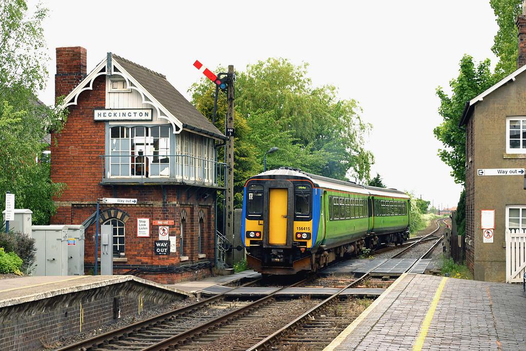 156415 Heckington 21/5/2005<br /> 2A77 1355 Skegness-Nottingham