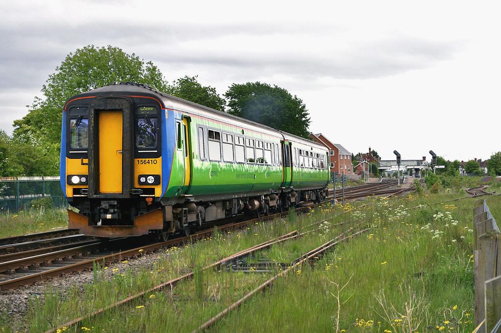156410 Sleaford 21/5/2005<br /> 2A73 1211 Skegness-Blythe Bridge