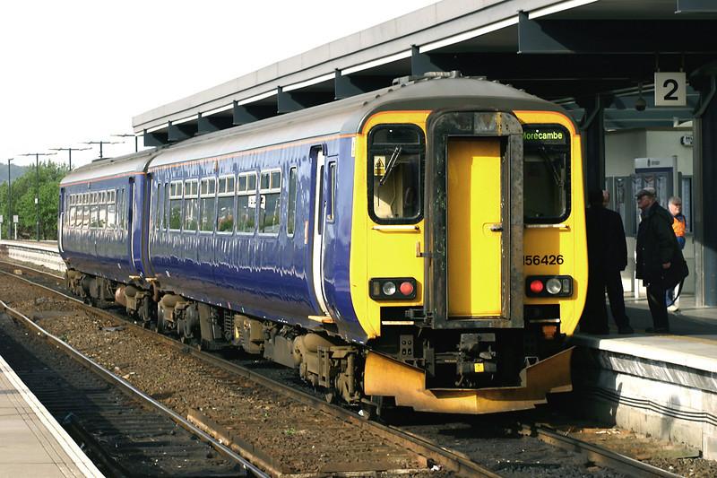 156426 Blackburn 21/5/2005<br /> 2C79 0757 Clitheroe-Preston