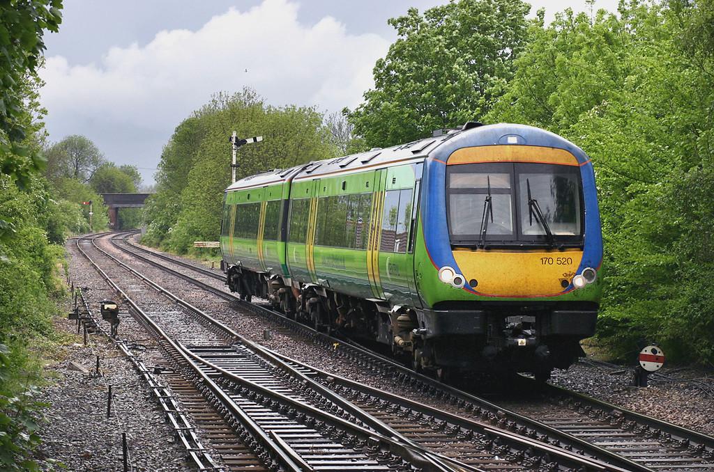 170520 Metheringham 21/5/2005<br /> 1W09 1342 Shrewsbury-Sleaford