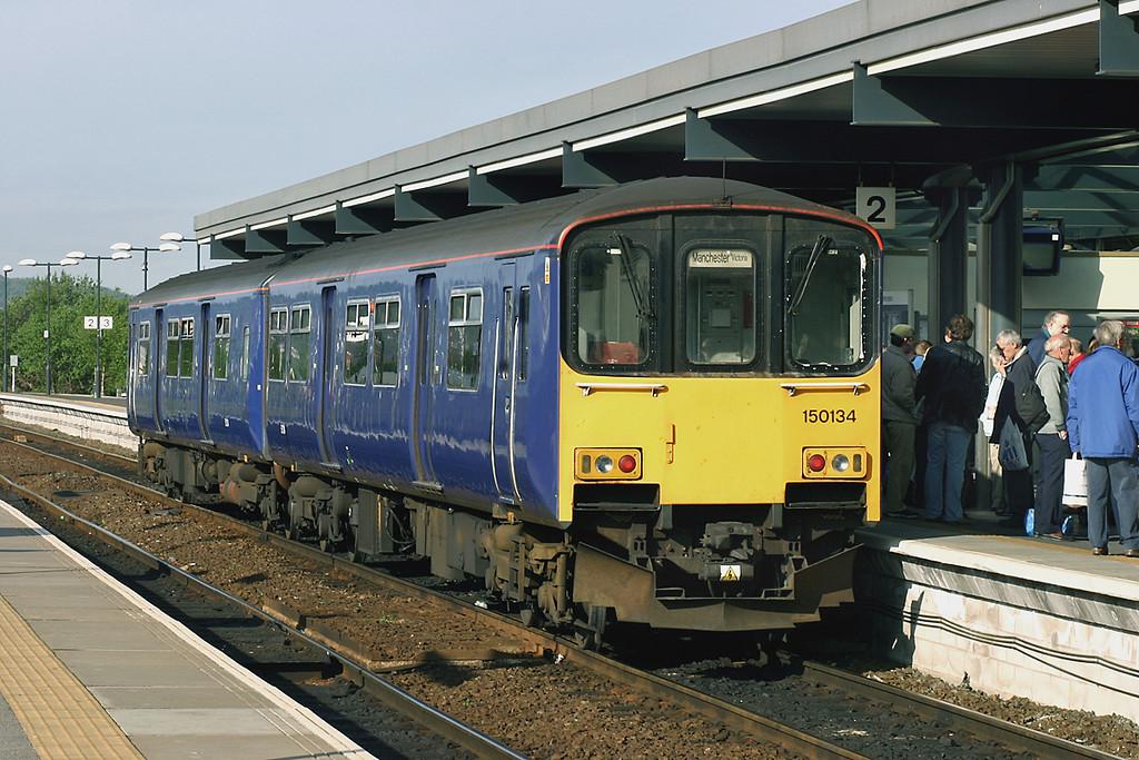 150134 Blackburn 21/5/2005<br /> 2J56 0736 Clitheroe-Manchester Victoria