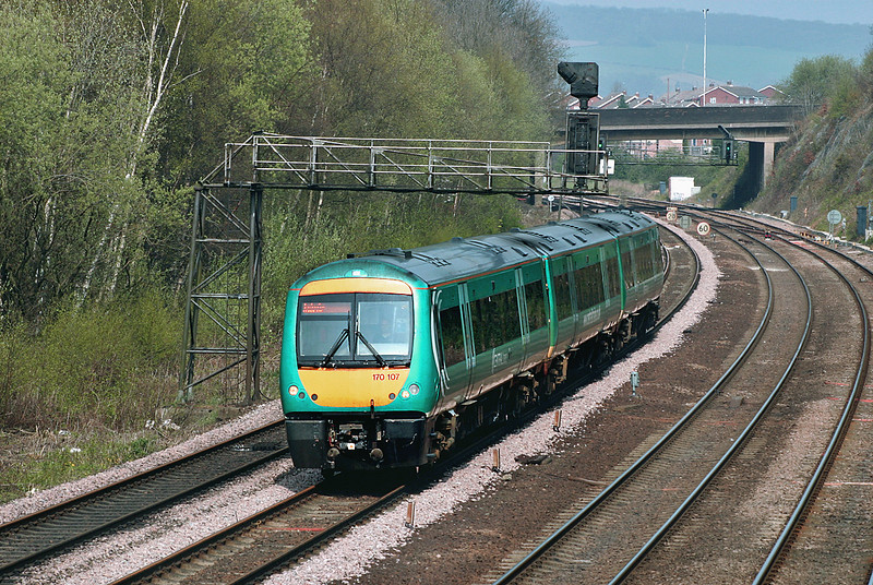 170107 Chesterfield 22/4/2005<br /> 1L17 1052 Liverpool Lime Street-Norwich