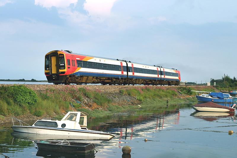 159010 Cockwood Harbour 23/6/2005<br /> 1L80 1910 Paignton-Basingstoke