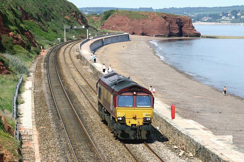 66002 Dawlish 23/6/2005<br /> 0Z60 1310 Didcot Yard-Keyham