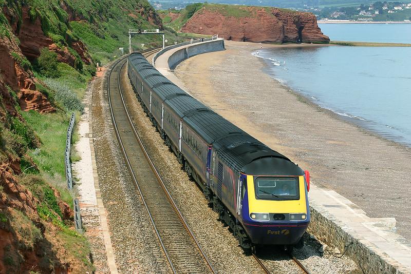 43142 and 43177, Dawlish 23/6/2005<br /> 1C86 1305 London Paddington-Plymouth