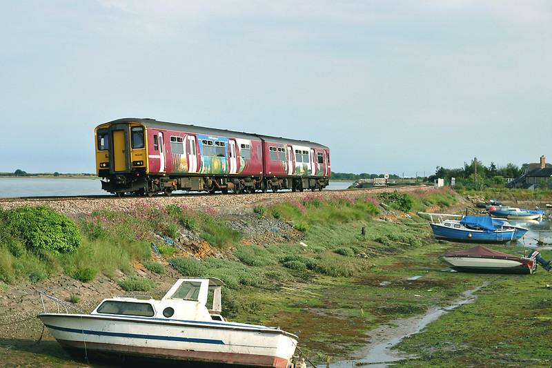150249 Cockwood Harbour 23/6/2005<br /> 2F51 1756 Paignton-Exmouth