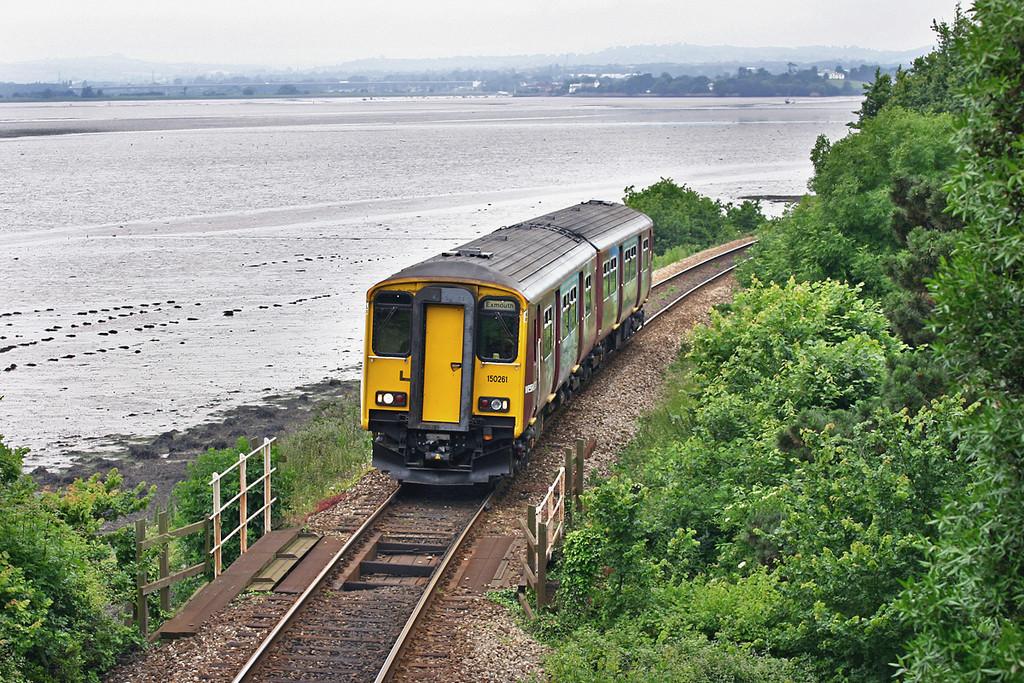 150261 Lympstone 24/6/2005<br /> 2F37 1426 Paignton-Exmouth