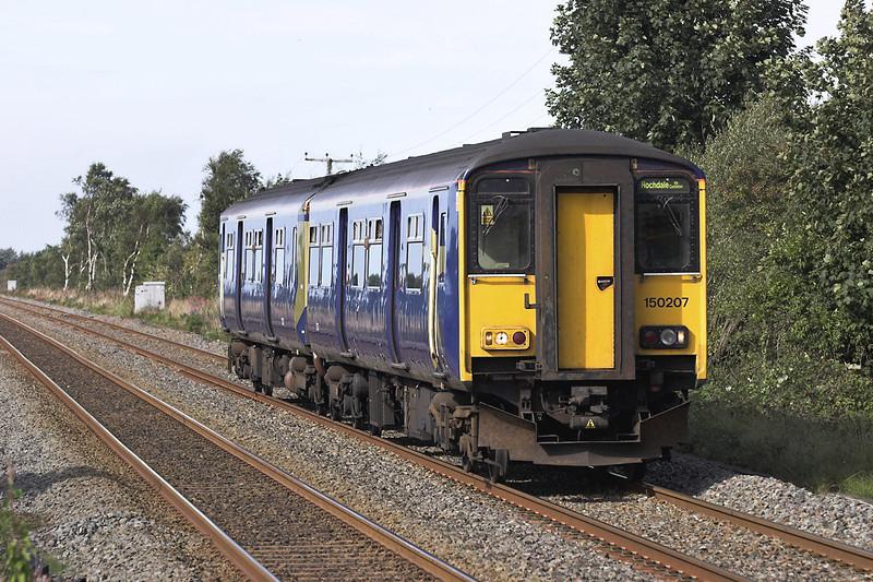150207 New Lane 24/9/2005<br /> 2J60 1212 Southport-Rochdale