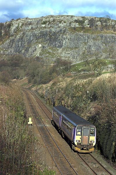 156451 Langcliffe 24/11/2005<br /> 2H89 1154 Carlisle-Leeds