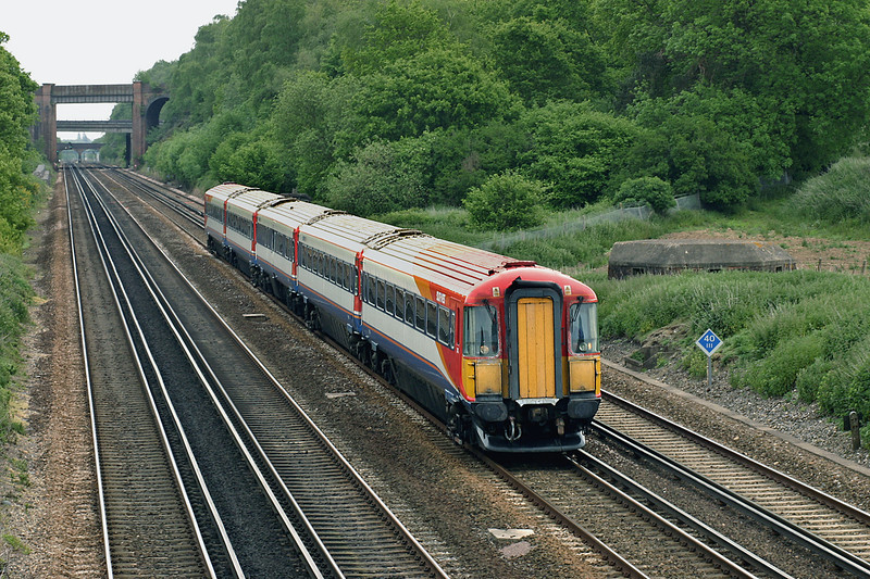 2413 Potbridge 26/5/2005<br /> 1B29 1105 London Waterloo-Bournemouth