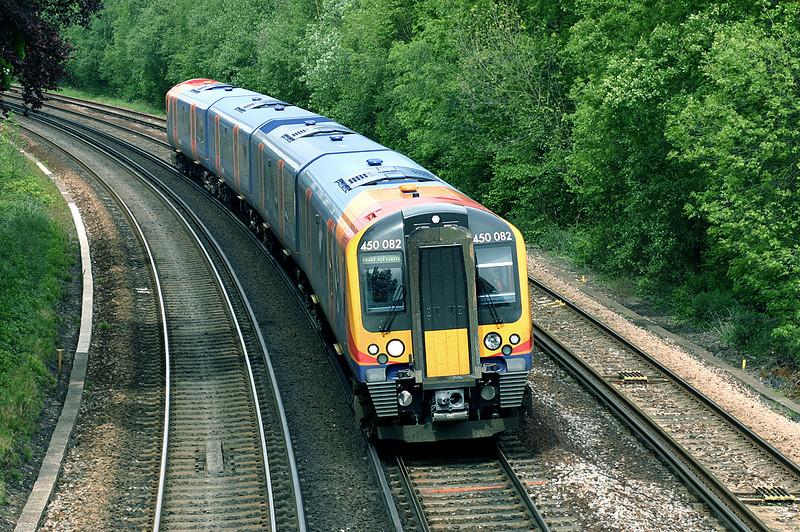 450082 Brockenhurst 26/5/2005<br /> 2W39 1516 Brockenhurst-Wareham