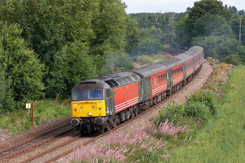 47843 Dorrington 27/8/2005<br /> 1V75 0928 Crewe-Cardiff Central