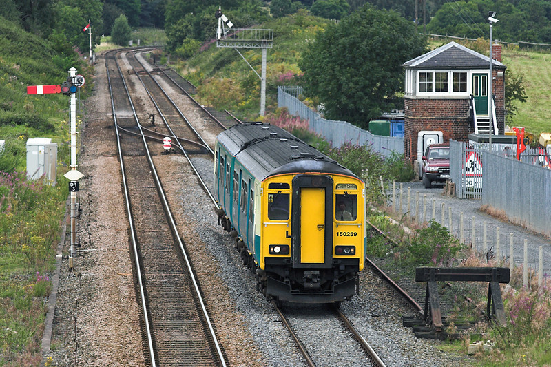 150259 Dorrington 27/8/2005<br /> 2V42 1032 Crewe-Cardiff Central