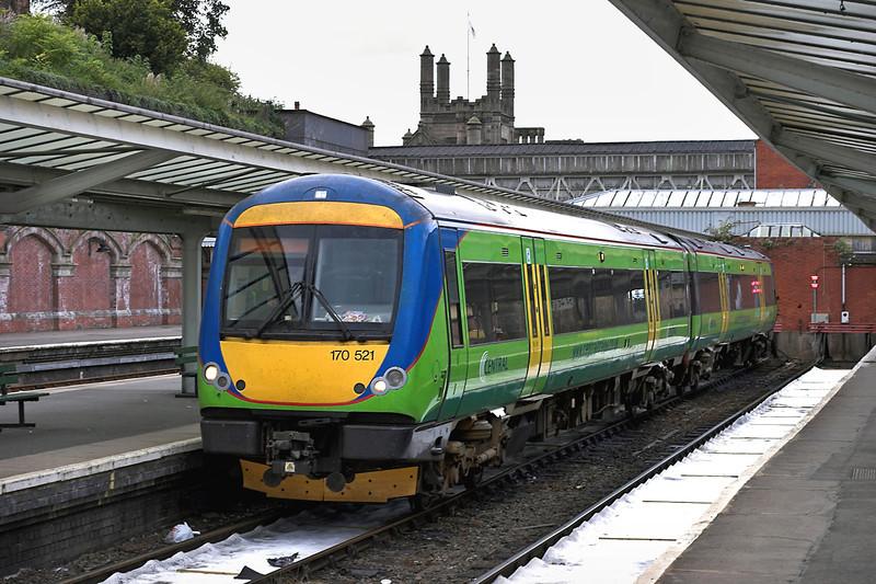170521 Shrewsbury 27/8/2005<br /> 1G36 1753 Shrewsbury-Birmingham New Street