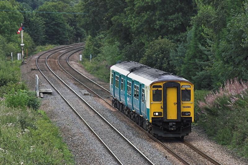 150285 Dorrington 27/8/2005<br /> 1Z45 0939 Cardiff Central-Manchester Piccadilly
