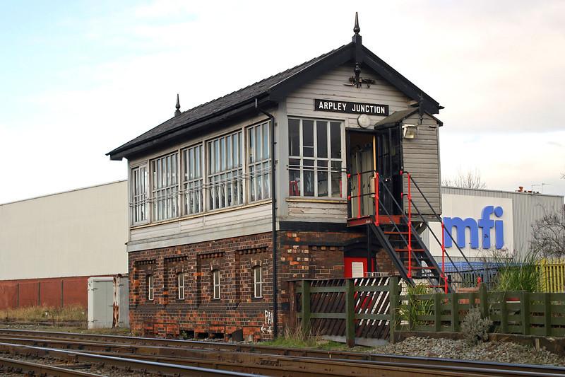 Arpley Junction 28/1/2005
