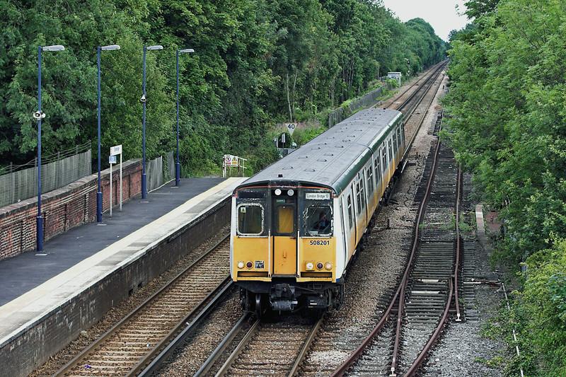 508201 Edenbridge 28/7/2005<br /> 2B48 1522 Tunbridge Wells-London Bridge