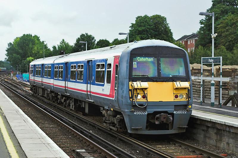 456022 Purley 28/7/2005<br /> 2P18 1015 London Victoria-Caterham