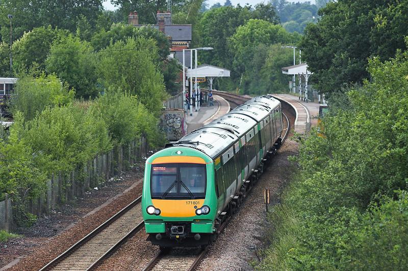 171801 Edenbridge Town 28/7/2005<br /> 1E45 1607 London Bridge-Uckfield