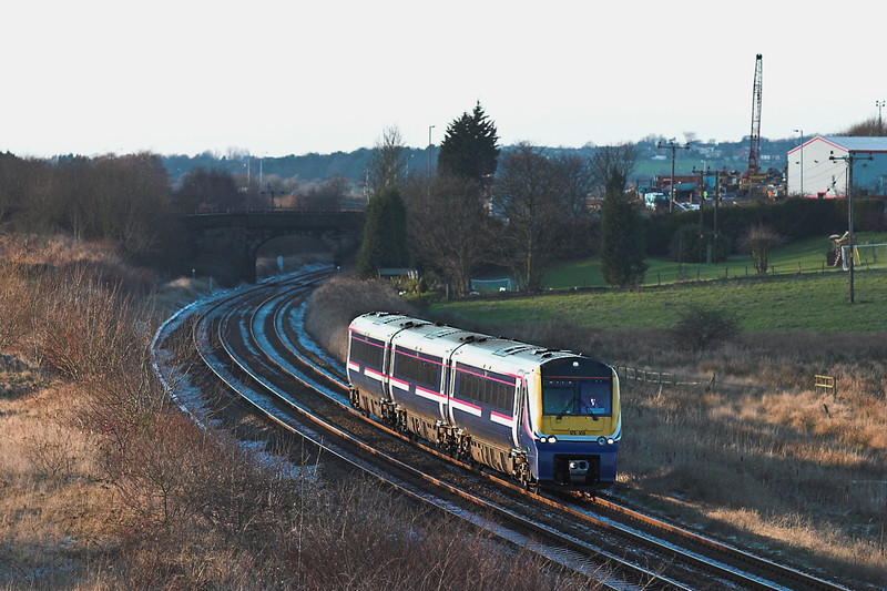 175105 Lostock Hall Fold 28/12/2005<br /> 1H74 1342 Blackpool North-Manchester Airport
