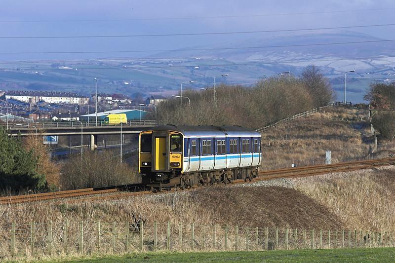 150273 Hapton 28/12/2005<br /> 2N19 1300 Colne-Blackpool South