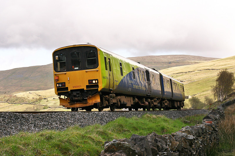 950001 Denthead 29/4/2005<br /> 2Z08 0623 Glasgow Central-Derby RTC