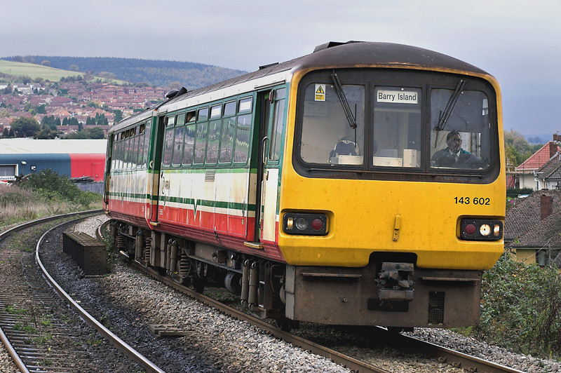 143602 Aber 29/10/2005<br /> 2Y56 1342 Bargoed-Barry Island