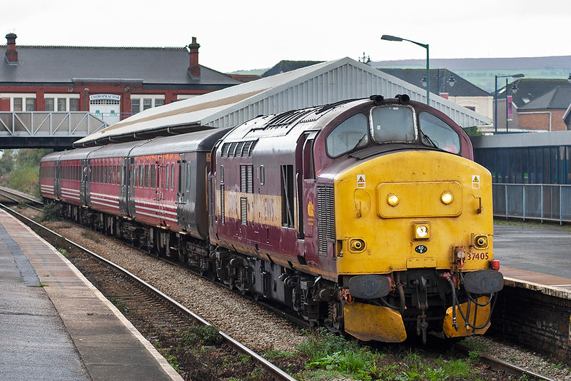 37405 Caerphilly 29/10/2005<br /> 2F22 1114 Rhymney-Cardiff Central