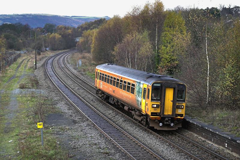 153327 Ruabon 30/11/2005<br /> 2D24 1135 Shrewsbury-Chester